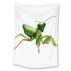Mantis Large Tapestry by Valentinaart
