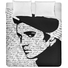 Elvis Duvet Cover Double Side (california King Size) by Valentinaart