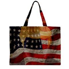 American president Medium Zipper Tote Bag by Valentinaart