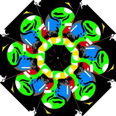 Che Guevara Folding Umbrellas by Valentinaart