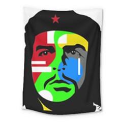 Che Guevara Medium Tapestry by Valentinaart