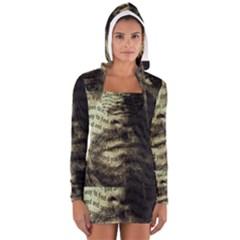 Kurt Cobain Women s Long Sleeve Hooded T Shirt by Valentinaart