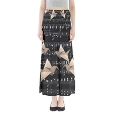 Paper Cranes Maxi Skirts by Valentinaart