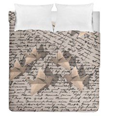 Paper Cranes Duvet Cover Double Side (queen Size) by Valentinaart