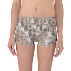 Paper Cranes Boyleg Bikini Bottoms by Valentinaart