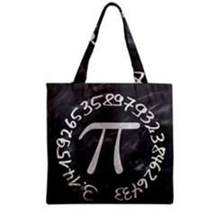 Pi Grocery Tote Bag by Valentinaart