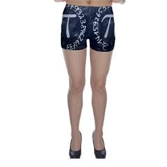 Pi Skinny Shorts by Valentinaart