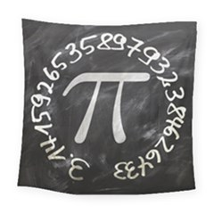 Pi Square Tapestry (large) by Valentinaart