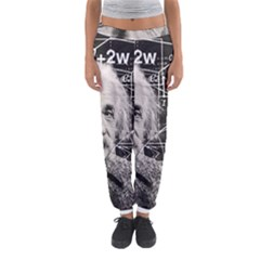 Albert Einstein Women s Jogger Sweatpants by Valentinaart