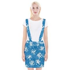 Pattern Suspender Skirt by Valentinaart