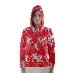 Pattern Hooded Wind Breaker (women) by Valentinaart