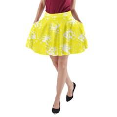 Pattern A Line Pocket Skirt by Valentinaart