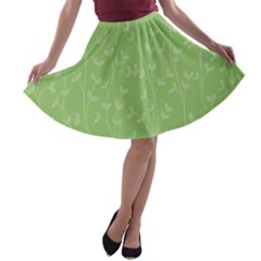 Pattern A Line Skater Skirt by Valentinaart