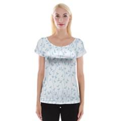 Pattern Women s Cap Sleeve Top by Valentinaart