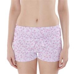 Pattern Boyleg Bikini Wrap Bottoms by Valentinaart