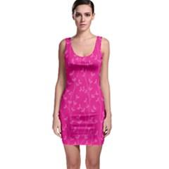 Pattern Sleeveless Bodycon Dress by Valentinaart