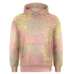 Floral Pattern Men s Pullover Hoodie by Valentinaart