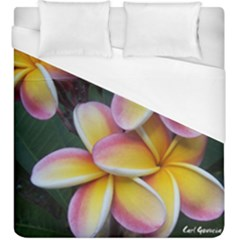 Premier Mix Flower Duvet Cover (king Size) by alohaA