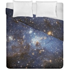 Large Magellanic Cloud Duvet Cover Double Side (california King Size) by SpaceShop