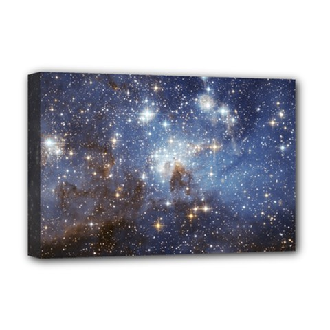 Large Magellanic Cloud Deluxe Canvas 18  X 12   by SpaceShop