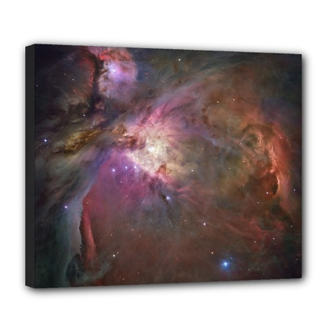 Orion Nebula Deluxe Canvas 24  X 20   by SpaceShop