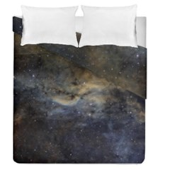 Propeller Nebula Duvet Cover Double Side (Queen Size) by SpaceShop