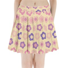 Floral Pattern Pleated Mini Skirt by Valentinaart