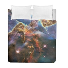 Pillar And Jets Duvet Cover Double Side (full/ Double Size) by SpaceShop