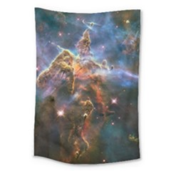 Pillar And Jets Large Tapestry by SpaceShop