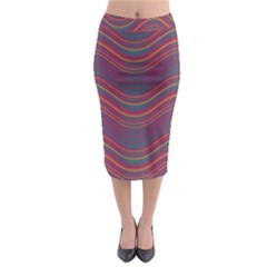 Pattern Midi Pencil Skirt by Valentinaart