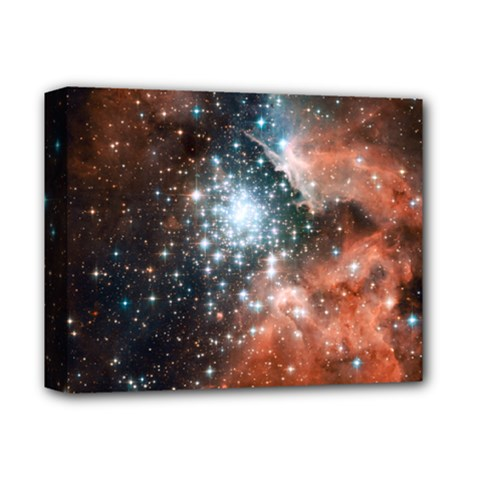 Star Cluster Deluxe Canvas 14  X 11  by SpaceShop