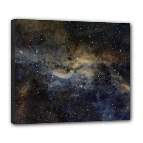 Propeller Nebula Deluxe Canvas 24  X 20   by SpaceShop