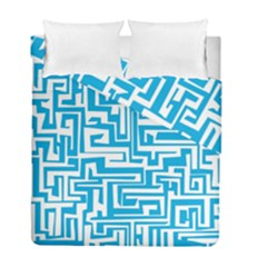 Pattern Duvet Cover Double Side (full/ Double Size) by Valentinaart