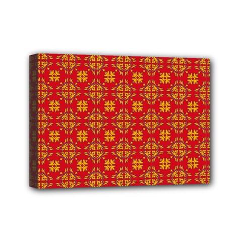 Pattern Mini Canvas 7  X 5  by Valentinaart
