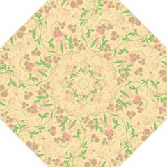 Floral Pattern Folding Umbrellas by Valentinaart