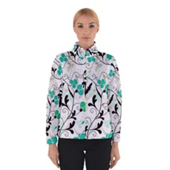 Floral Pattern Winterwear by Valentinaart