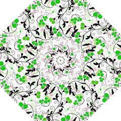 Floral Pattern Folding Umbrellas by Valentinaart