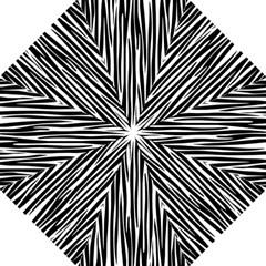 Zebra Pattern Golf Umbrellas by Valentinaart