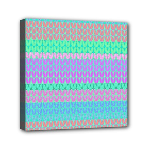 Pattern Mini Canvas 6  X 6  by Valentinaart
