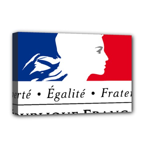 Symbol Of The French Government Deluxe Canvas 18  X 12   by abbeyz71