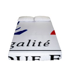 Symbol Of The French Government Fitted Sheet (full/ Double Size) by abbeyz71