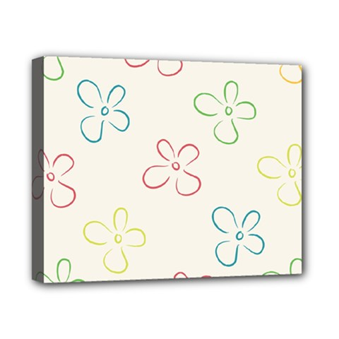 Flower Background Nature Floral Canvas 10  X 8  by Simbadda