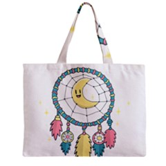 Cute Hand Drawn Dreamcatcher Illustration Zipper Mini Tote Bag by TastefulDesigns