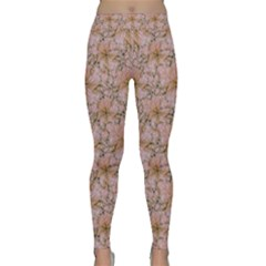 Nature Collage Print Classic Yoga Leggings by dflcprintsclothing