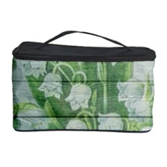 On Wood May Lily Of The Valley Cosmetic Storage Case by Simbadda