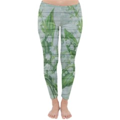On Wood May Lily Of The Valley Classic Winter Leggings