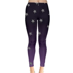 Purple Ombre Stars by ChihuahuaShower