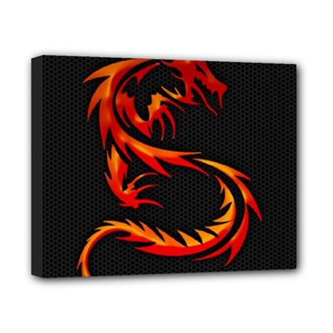 Dragon Canvas 10  X 8  by Simbadda