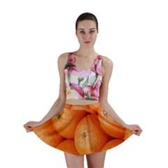 Orange Fruit Mini Skirt by Simbadda