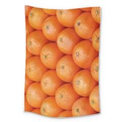Orange Fruit Large Tapestry